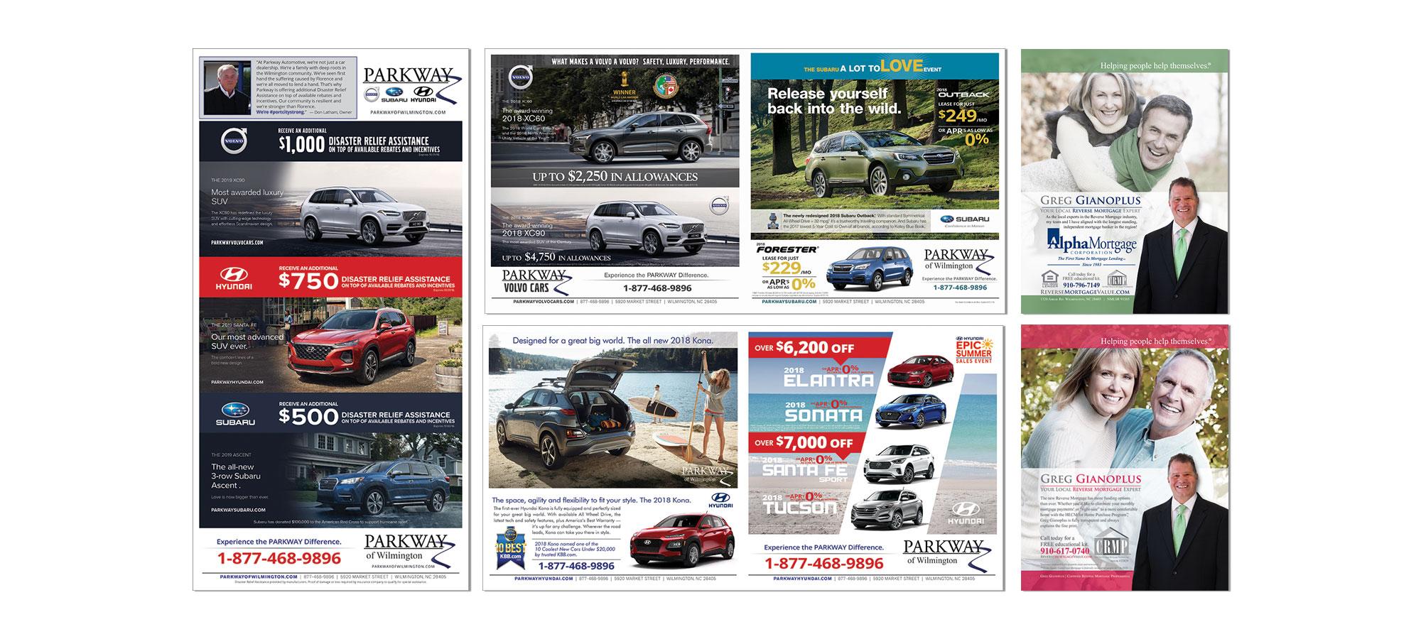 Newspaper Advertising Eagle Eye Marketing Wilmington NC