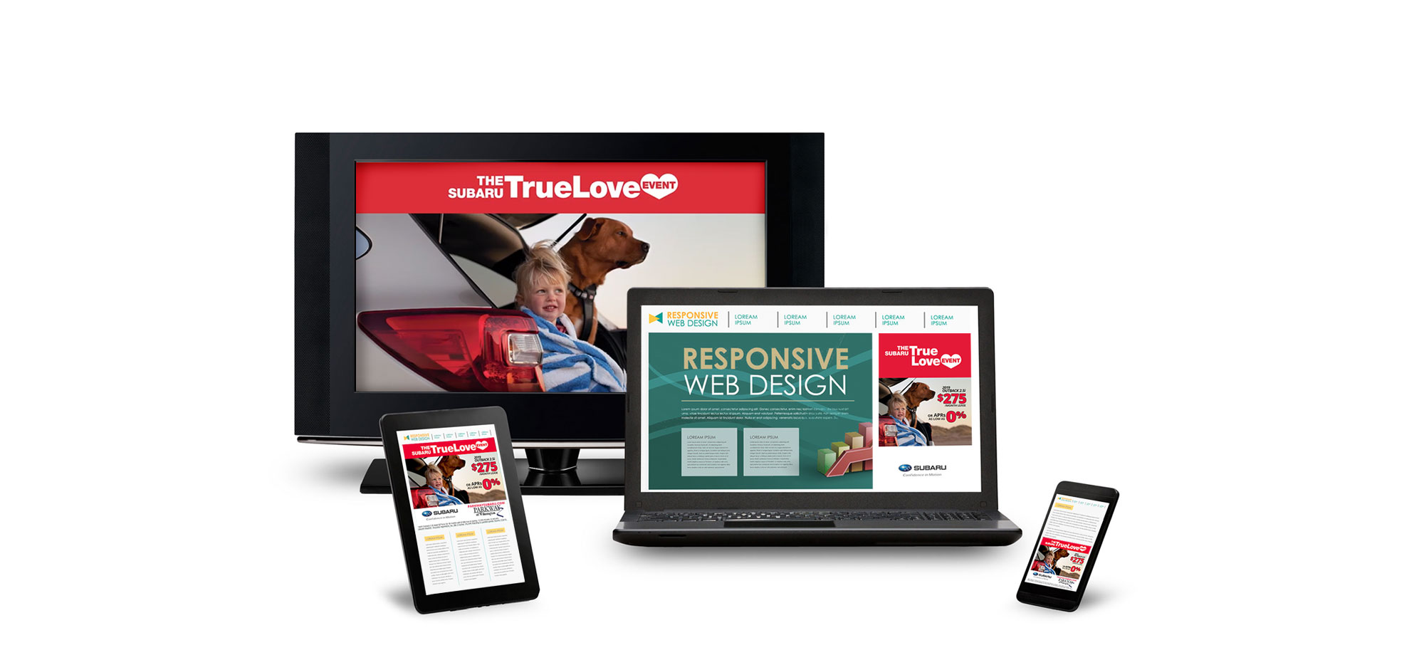 Responsive, Branded Advertising Across Multiple Channels